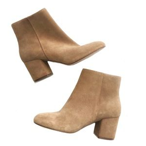 Splendid | Real Suede Heeled Ankle Boots